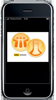 Lotus Traveler - Iphone